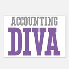 Accounting DIVA Postcards (Package of 8)
