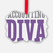 Accounting DIVA Ornament