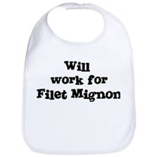 Will work for Filet Mignon Bib