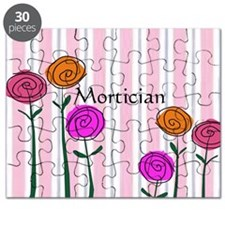 Mortician floral roses Puzzle
