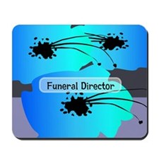 funeral director floral Mousepad