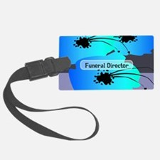 funeral director floral Luggage Tag