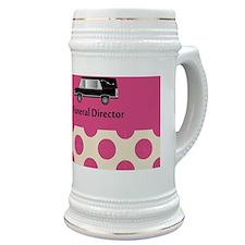 funeral director pink Stein