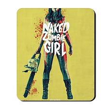Naked Zombie Girl Mousepad
