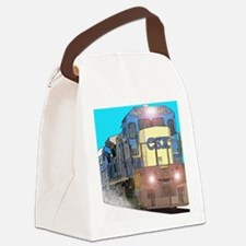 CSX Train Canvas Lunch Bag
