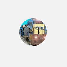 CSX Train Mini Button