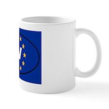 Latvia LV European Mug