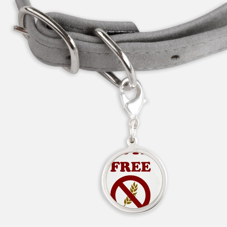 Gluten Free Small Round Pet Tag