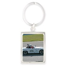 MG racing Portrait Keychain