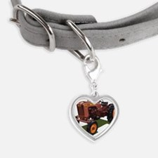 MM Jet Star Small Heart Pet Tag