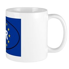 Croatia HR European Mug
