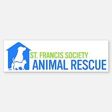 St Francis Rescue Sticker (Bumper)