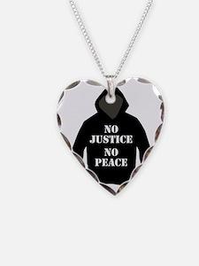 No Justice, No Peace Necklace