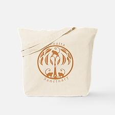 Alouatta Sanctuary Logo (Mantled) Tote Bag