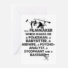 I'm a Filmmaker Greeting Card