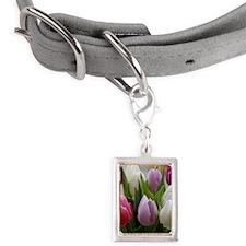 Dutch Tulips Small Portrait Pet Tag