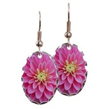 Pink Dahlia Earring