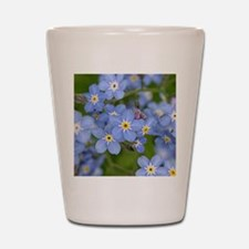 Forget me nots Shot Glass