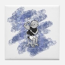 AI80D_date4_navy Tile Coaster