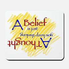 A Belief Mousepad