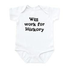 Will work for Hickory Infant Bodysuit