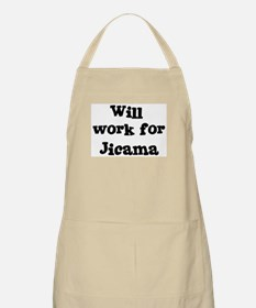 Will work for Jicama BBQ Apron