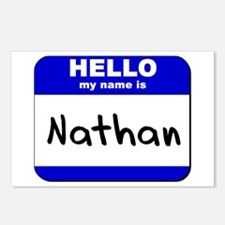 hello my name is nathan  Postcards (Package of 8)