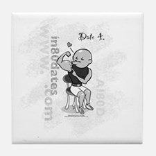 AI80D_date4_white Tile Coaster