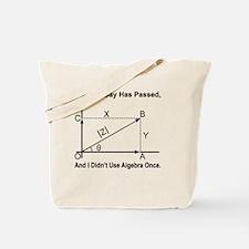 funny algebra Tote Bag