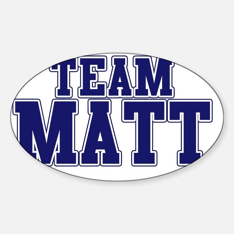 Team Matt Decal