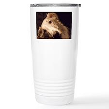Melancholy Borzoi Travel Mug