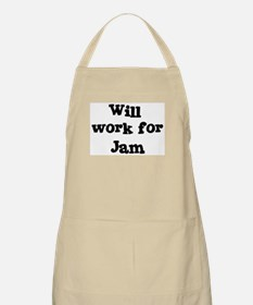 Will work for Jam BBQ Apron