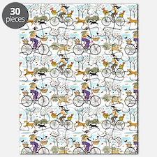 bike_riders_shower_curtain Puzzle
