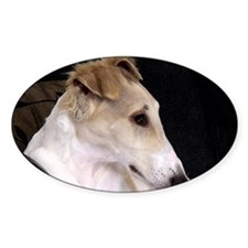 Thinking Borzoi Decal