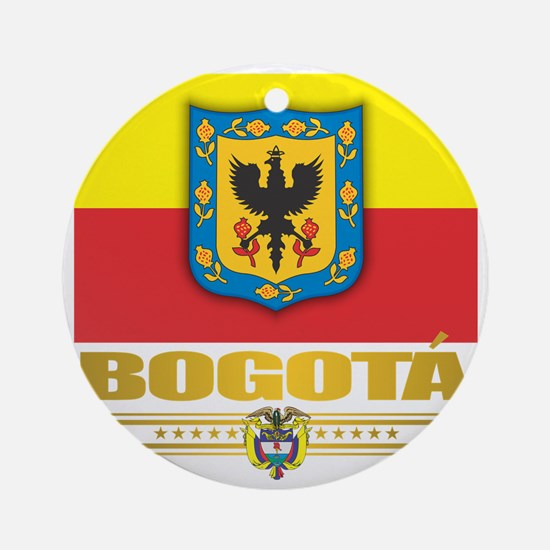Bogota Pride Round Ornament