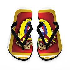 Colombia Gold Flip Flops