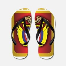 Colombia Gold Flip Flops