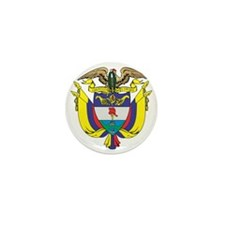 Colombia COA Mini Button
