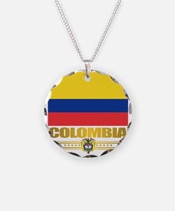 Flag of Colombia Necklace