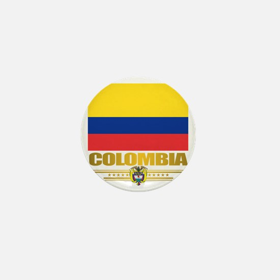 Flag of Colombia Mini Button