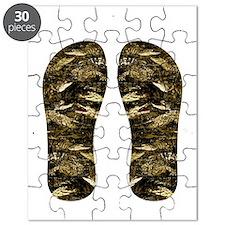 alligator flip flops Puzzle