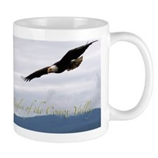 Comox Valley Eagle Mousepad Mug