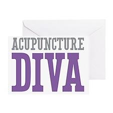 Acupuncture DIVA Greeting Card