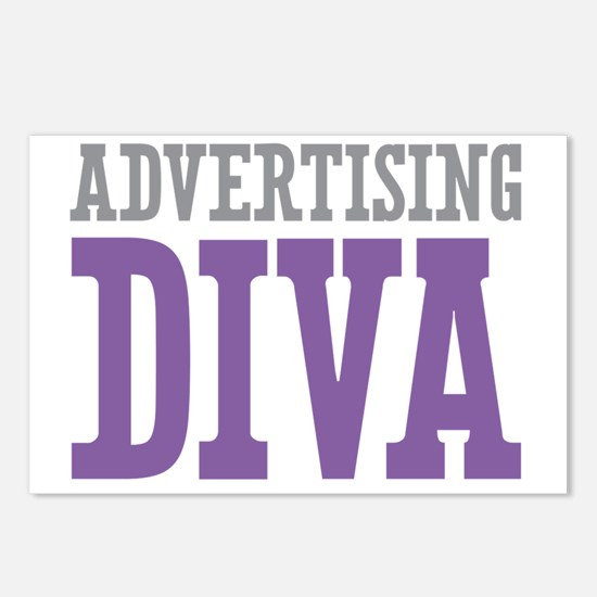 Advertising DIVA Postcards (Package of 8)
