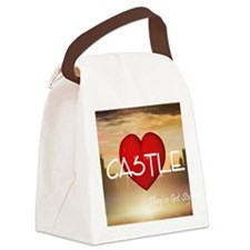 castle1c Canvas Lunch Bag