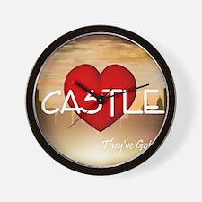 castle1c Wall Clock