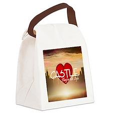 castle2sq Canvas Lunch Bag