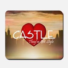 castle2sq Mousepad