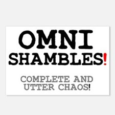 OMNISHAMBLES! Postcards (Package of 8)