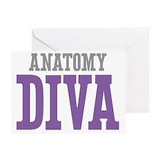 Anatomy DIVA Greeting Card